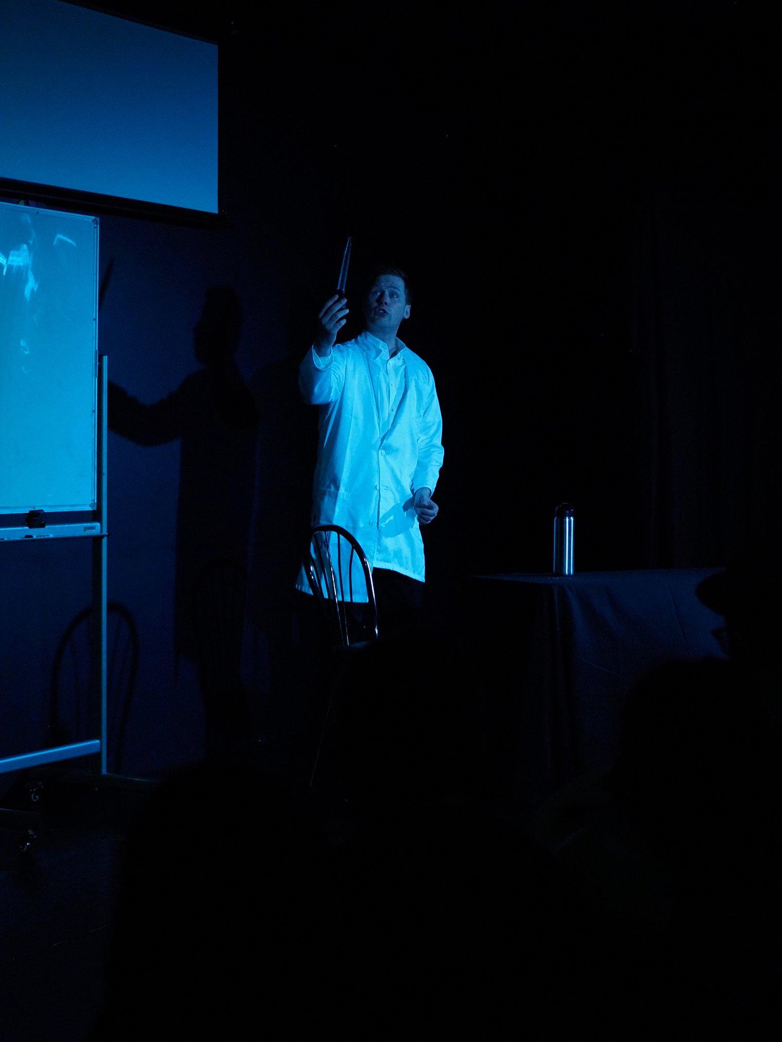 Jerome as Dr. Jekyl (📸️ Photo by Bob Shields)